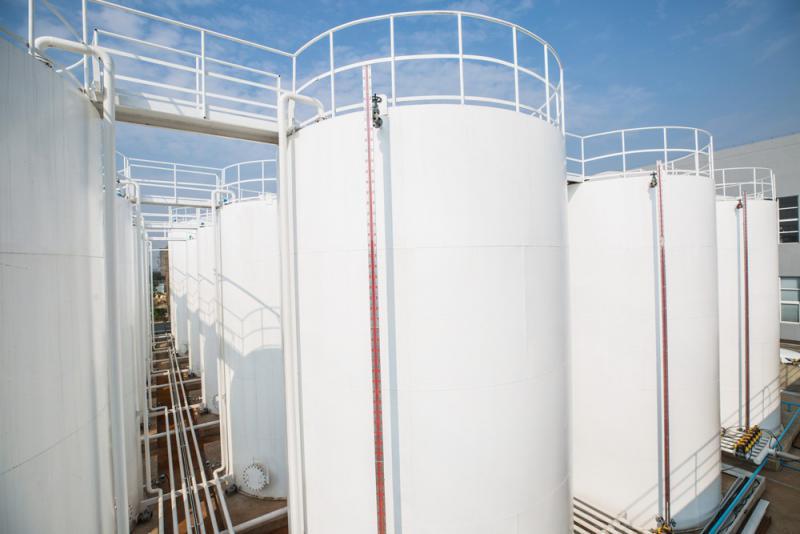 Mulpac润滑油生产工厂油罐